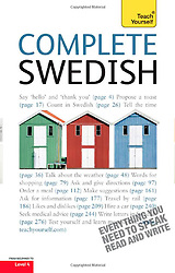 Book and DVD cover image Complete Swedish, tearsheet