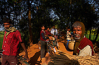 Inde, Bengale-Occidental, villages dans la region de Murshidabad // India, West Bengal, village around Murshidabad