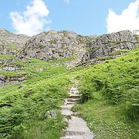 footpath , Glen Coe, the Highlands , Scotland