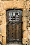 Old door, Durham, England, UK