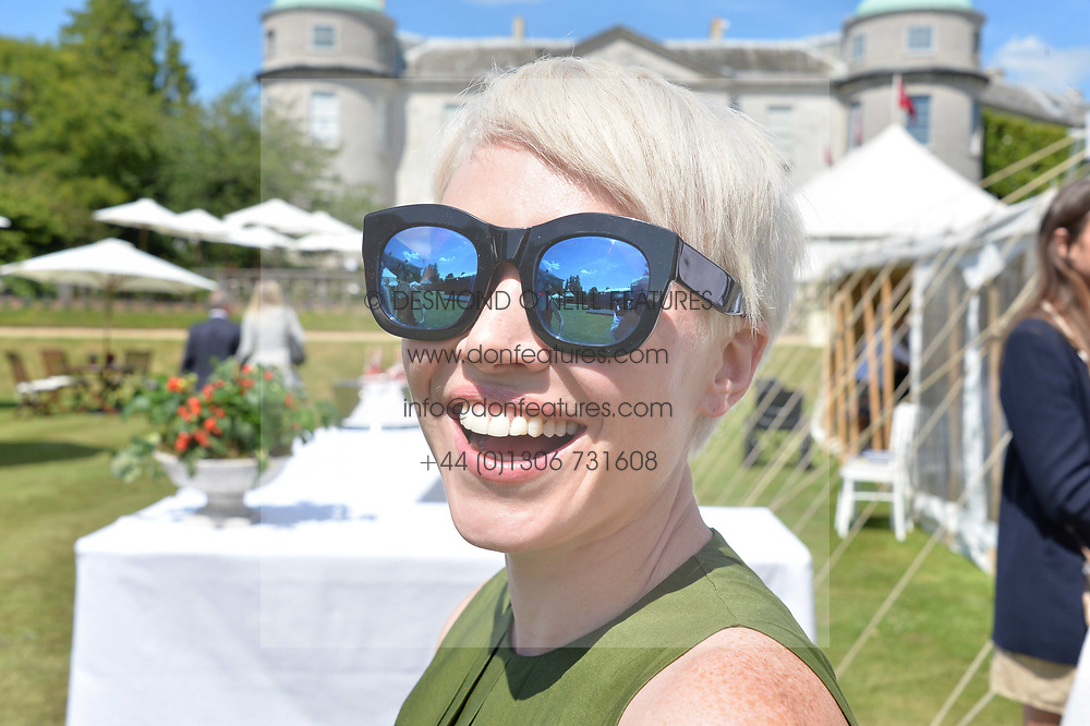 Daisy Lewis at the Cartier Style et Luxe at the Goodwood Festival of Speed, Goodwood, West Sussex, England. 2 July 2017.<br /> Photo by Dominic O'Neill/SilverHub 0203 174 1069 sales@silverhubmedia.com