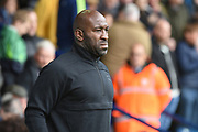 West Bromwich Albion manager Darren Moore during the EFL Sky Bet Championship match between West Bromwich Albion and Millwall at The Hawthorns, West Bromwich, England on 22 September 2018.
