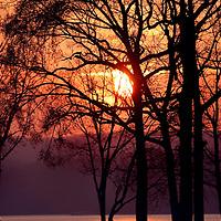 Sunset at Beaver Lake, Northwest Arkansas