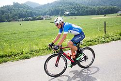 Robert Jenko (SLO) of Slovenija National Team during Stage 2 of 24th Tour of Slovenia 2017 / Tour de Slovenie from Ljubljana to Ljubljana (169,9 km) cycling race on June 16, 2017 in Slovenia. Photo by Vid Ponikvar / Sportida
