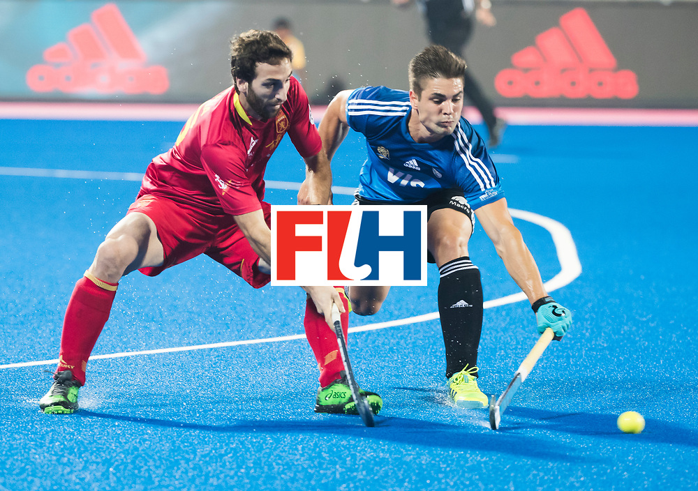 BHUBANESWAR -  Hockey World League finals ,  .Team Argentina.  Argentina v Spain (2-1).  Gonzalo Peillat (Arg)  COPYRIGHT KOEN SUYK