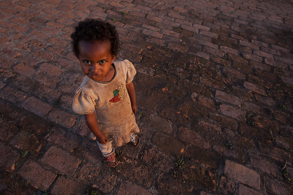 The daughter of a security guard and resident on an Ethiopian coffee farm.