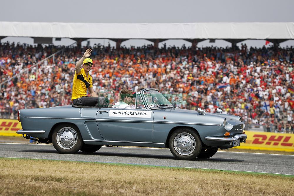 July 22, 2018 - Hockenheim, Germany - Motorsports: FIA Formula One World Championship 2018, Grand Prix of Germany, .#27 Nico Hulkenberg (GER, Renault Sport Formula One Team) (Credit Image: © Hoch Zwei via ZUMA Wire)