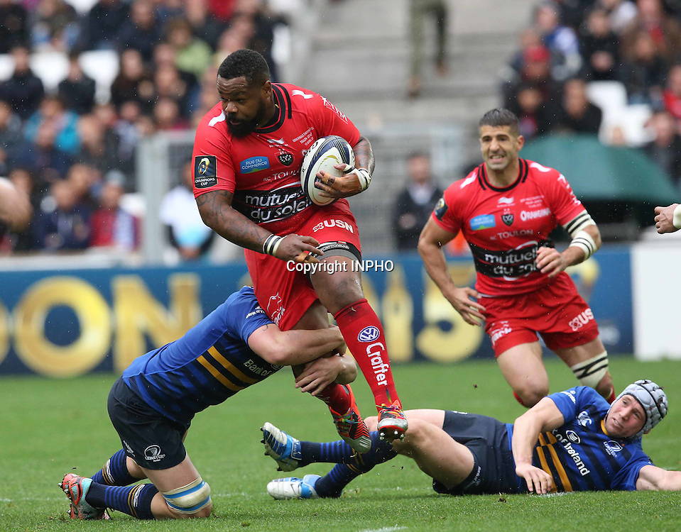 European Rugby Champions Cup Semi-Final, Stade V&eacute;lodrome, Marseille, France 19/4/2015<br /> RC Toulon vs Leinster<br /> Toulon&rsquo;s Mathieu Bastareaud<br /> Mandatory Credit &copy;INPHO/Billy Stickland