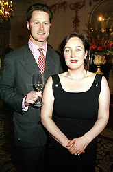 MR HENRY MOUNTAIN and his wife the HON.CAMILLA<br />  CECIL writer of Jennifer's Diary in Harpers & Queen <br /> magazine, at a party in London on 31st May 2000.OES 9<br /> © Desmond O'Neill Features:- 020 8971 9600<br />    10 Victoria Mews, London.  SW18 3PY <br /> www.donfeatures.com   photos@donfeatures.com<br /> MINIMUM REPRODUCTION FEE AS AGREED.<br /> PHOTOGRAPH BY DOMINIC O'NEILL