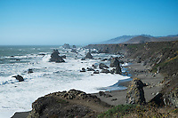 Sonoma Coast State Beach Near Jenner, California