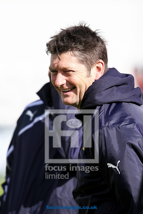 Martyn Moxon, Yorkshire County Cricket Club Director of Cricket, during the Friendly match at the County Ground, Northampton, Northampton<br /> Picture by Andy Kearns/Focus Images Ltd 0781 864 4264<br /> 08/04/2014
