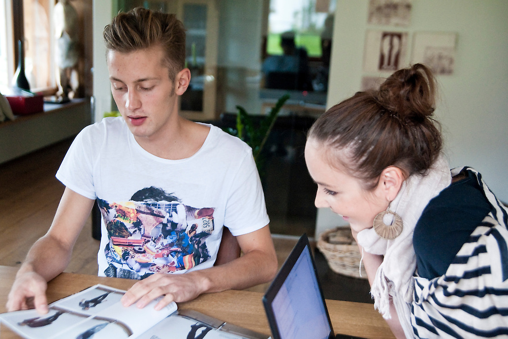 Homestory Simon Rusch, Topmodel; Wiener Model; Model Agentur;