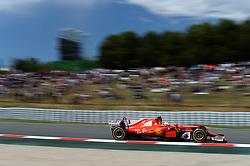 May 15, 2017 - Montmelo, Spanien - 170514 Sebastian Vettel, GER, under Spaniens Grand Prix den 14 maj 2017 i Barcelona  (Credit Image: © Patrik Lundin/Bildbyran via ZUMA Wire)