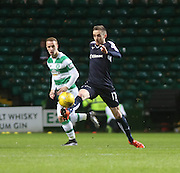 Dundee&rsquo;s Nick Ross and Celtic's Leigh Griffiths - Celtic v Dundee - Ladbrokes Scottish Premiership at Dens Park<br /> <br />  - &copy; David Young - www.davidyoungphoto.co.uk - email: davidyoungphoto@gmail.com