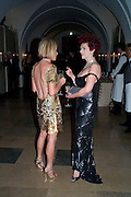 CAROLINE STANBURY; CLEO ROCOS, Chaos Point: Vivienne Westwood Gold Label Collection performance art catwalk show and auction in aid of the NSPCC. Banqueting House. London. 18 November 2008<br />