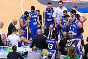 DESCRIZIONE: Torino FIBA Olympic Qualifying Tournament Italia - Tunisia<br /> GIOCATORE: TEAM ITALIA ETTORE MESSINA<br /> CATEGORIA: Nazionale Italiana Italia Maschile Senior<br /> GARA: FIBA Olympic Qualifying Tournament Italia - Tunisia<br /> DATA: 04/07/2016<br /> AUTORE: Agenzia Ciamillo-Castoria