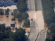 20090922  -  Atlanta, Ga : Interstate 20 is blocked in both directions outside of Atlanta after constant rains for nearly a week saturated the metro Atlanta area bringing flood waters to residents' doors, closing businesses and claiming the lives of at least eight by Tuesday, September 22, 2009. Cobb, Carroll, Douglas, DeKalb, Forsyth, Fulton, and Gwinnett County schools were closed because of the floods and resulting treacherous road conditions while business and homes were under water.   David Tulis         dtulis@gmail.com    ©David Tulis 2009