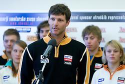 Andrej Jerman of Slovenian Alpine Ski Team before new season 2008/2009, on Septembra 25, 2008, Ljubljana, Slovenia. (Photo by Vid Ponikvar / Sportal Images)