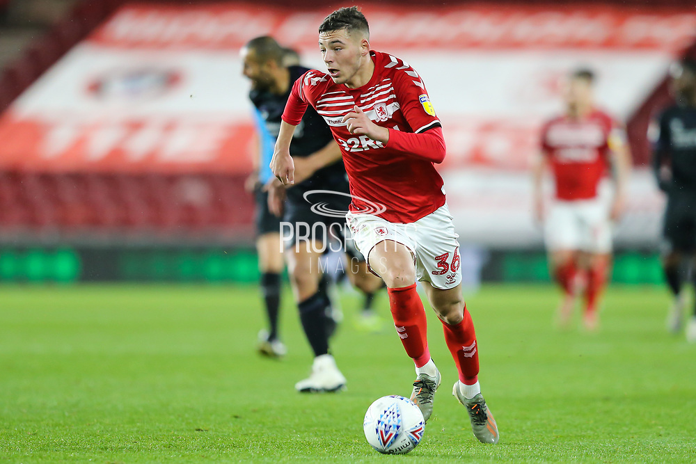 Middlesbrough forward Stephen Walker (36) during the EFL Sky Bet Championship match between Middlesbrough and Charlton Athletic at the Riverside Stadium, Middlesbrough, England on 7 December 2019.