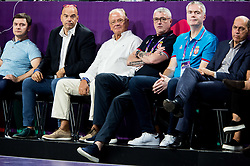 Dusan Ivkovic, Predrag Danilovic during basketball match between National Teams of Italy and Serbia at Day 14 in Round of 16 of the FIBA EuroBasket 2017 at Sinan Erdem Dome in Istanbul, Turkey on September 13, 2017. Photo by Vid Ponikvar / Sportida
