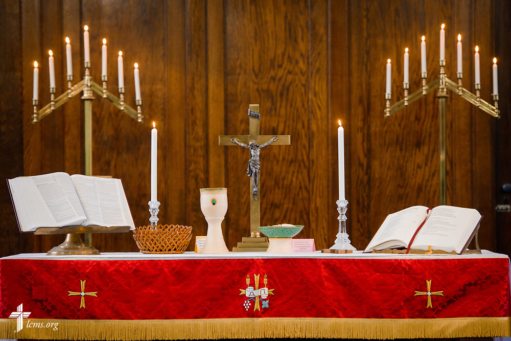 The altar at Family of God on Wednesday, March 28, 2018, in Detroit. LCMS Communications/Erik M. Lunsford