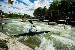 Kayak Single (K1) Men race of Tacen Cup 2020 on May 24, 2020 in Tacen, Ljubljana, Slovenia. Photo By Grega Valancic / Sportida