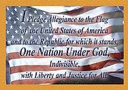 Patriotic souvenir magnets