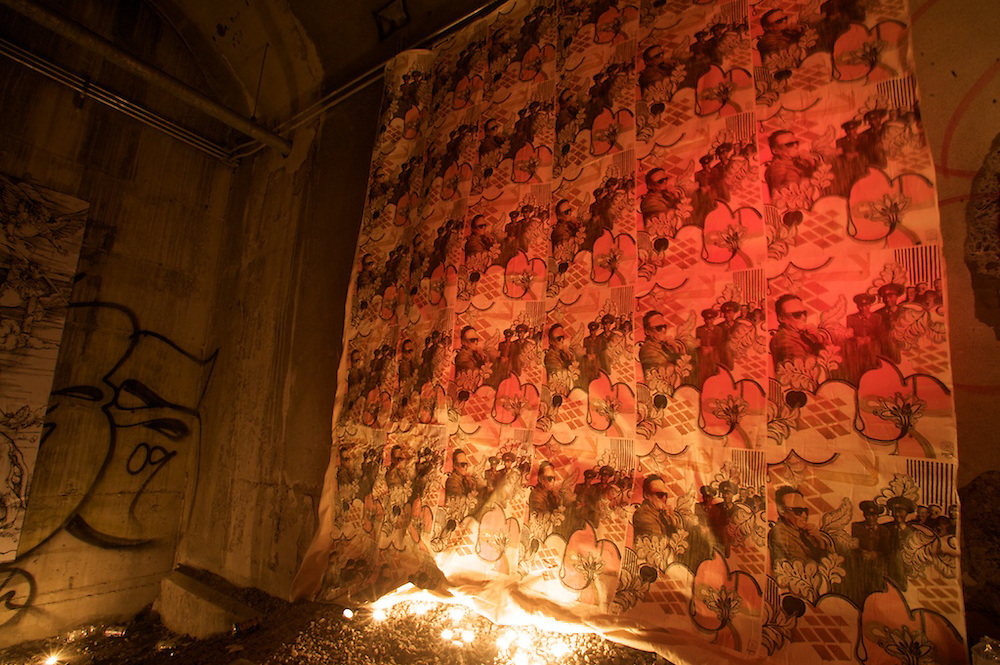 Independent artists in Montreal host a secret art gallery in a certain tunnel in Monteal