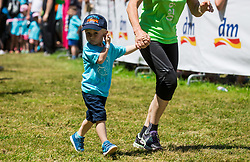 Oskarjev tek  for kids at 12th DM Tek za zenske, on May 27, 2017 in Tivoli, Ljubljana, Slovenia.Photo by Vid Ponikvar / Sportida