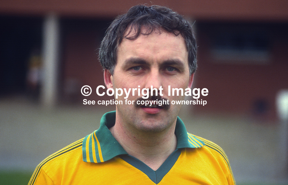 Malachy Watters, GAA footballer, Armagh & Cullaville, N Ireland, 19850703MW..Copyright Image from Victor Patterson, 54 Dorchester Park, Belfast, UK, BT9 6RJ..Tel: +44 28 9066 1296.Mob: +44 7802 353836.Voicemail +44 20 8816 7153.Skype: victorpattersonbelfast.Email: victorpatterson@me.com.Email: victorpatterson@ireland.com (back-up)..IMPORTANT: If you wish to use this image or any other of my images please go to www.victorpatterson.com and click on the Terms & Conditions. Then contact me by email or phone with the reference number(s) of the image(s) concerned.