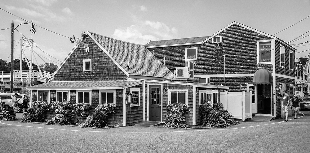 Street View, Perkins Cove - Ogunquit, Maine, 2016