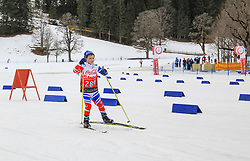17.03.2017, Ramsau am Dachstein, AUT, Special Olympics 2017, Wintergames, Langlauf, Divisioning 5 km Freestyle, im Bild Arsen Tukumbaev (RUS) // during the Cross Country Divisioning 5 km Freestyle at the Special Olympics World Winter Games Austria 2017 in Ramsau am Dachstein, Austria on 2017/03/17. EXPA Pictures © 2017, PhotoCredit: EXPA / Martin Huber