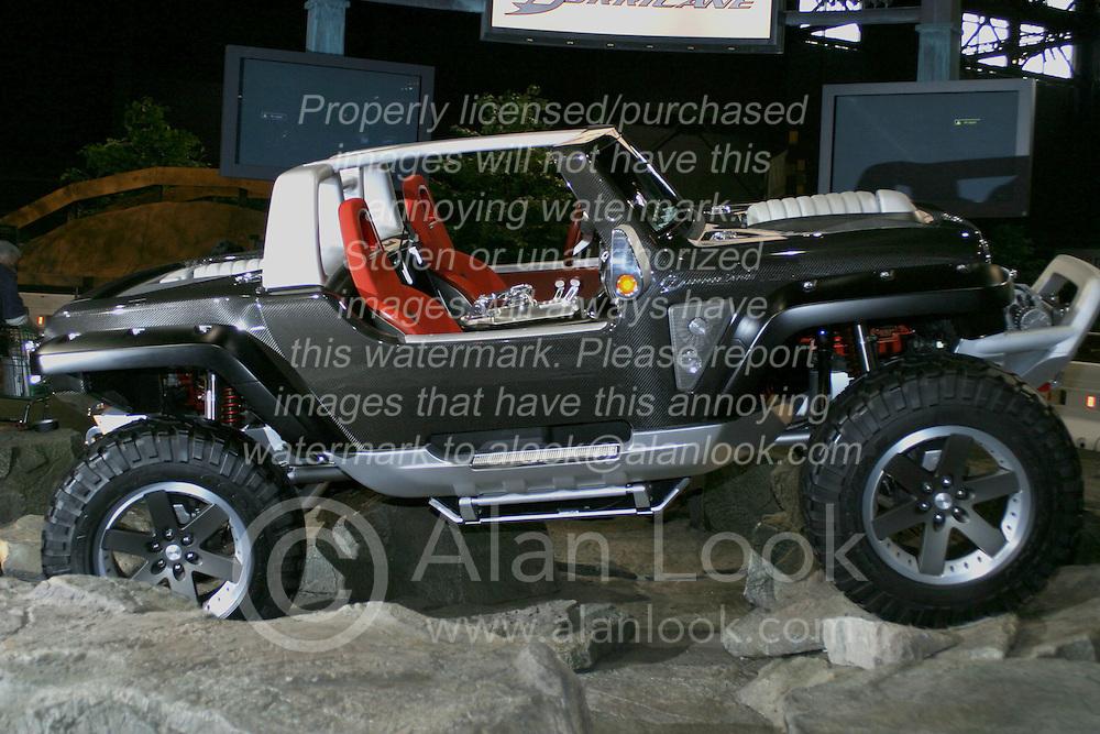 2005 CATA (Chicago Auto Show)<br /> Jeep Hurricane Concept off-road vehicle.