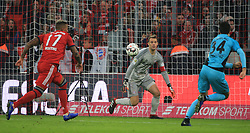 03.11.2018, 1. BL, FC Bayern vs SC Freiburg, Allianz Arena Muenchen,  Fussball, Sport, im Bild:...Jerome Boateng (FCB), Torwart Manuel Neuer (FCB) und Tim Kleindienst (SC Freiburg)..DFL REGULATIONS PROHIBIT ANY USE OF PHOTOGRAPHS AS IMAGE SEQUENCES AND / OR QUASI VIDEO...Copyright: Philippe Ruiz..Tel: 089 745 82 22.Handy: 0177 29 39 408.e-Mail: philippe_ruiz@gmx.de. (Credit Image: © Philippe Ruiz/Xinhua via ZUMA Wire)