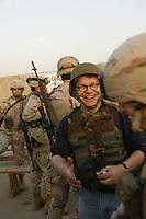 uso troup at Abu Ghraib prison, Iraq Al Franken, USO tour