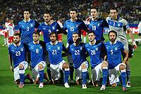 """Formazione Italia - Italia team line up<br /> Modena 11/9/2012 Stadio """"Alberto Braglia""""<br /> Football Calcio Qualificazioni Mondiali 2014<br /> Italia Vs Malta / Italy Vs Malta<br /> Foto Andrea Staccioli Insidefoto"""