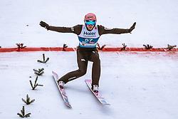 22.02.2019, Bergiselschanze, Innsbruck, AUT, FIS Weltmeisterschaften Ski Nordisch, Seefeld 2019, Skisprung, Herren, im Bild Dawid Kubacki (POL) // Dawid Kubacki of Poland during the men's Skijumping of FIS Nordic Ski World Championships 2019. Bergiselschanze in Innsbruck, Austria on 2019/02/22. EXPA Pictures © 2019, PhotoCredit: EXPA/ Dominik Angerer