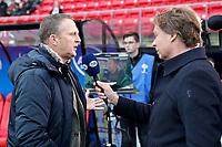 (L-R) coach *John van den Brom* of AZ Alkmaar, *Hans Kraay jr*