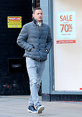 Manchester United's Nemanja Matic seen in Hale Village, Cheshire - 17 Jan 2019