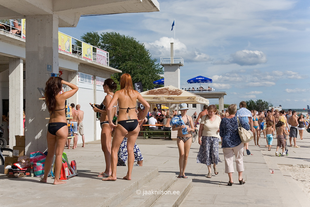 Pärnu Beach, Estonia, Europe