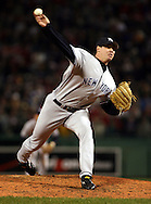 New York Yankees Tanyon Sturtze.  2004 Boston Red Sox, make a run at history getting through a tough fight with the New York Yankees and then eventually sweeping the St. Louis Cardinals for the World Series title.