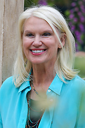 © Licensed to London News Pictures. 20/05/2019. London, UK. Anneka Rice attend Chelsea Flower Show. <br /> The Royal Horticultural Society Chelsea Flower Show is an annual garden show held over five days in the grounds of the Royal Hospital Chelsea in West London. The show is open to the public from 21 May until 25 May 2019. Photo credit: Dinendra Haria/LNP