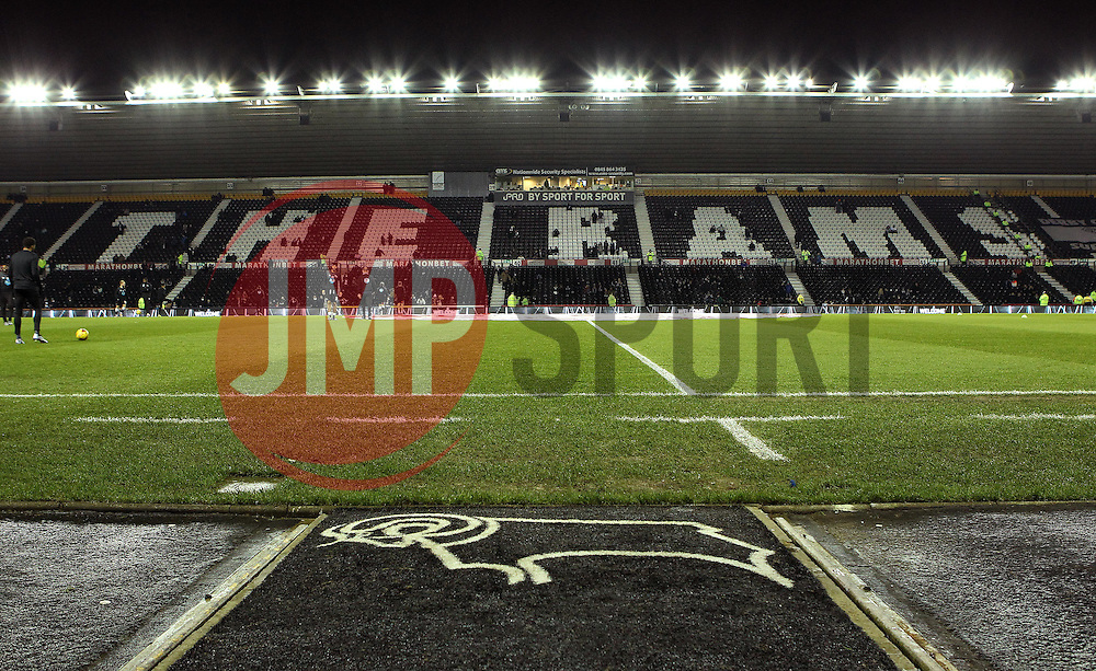 The iPro Stadium, home of Derby County - Mandatory byline: Robbie Stephenson/JMP - 12/01/2016 - FOOTBALL - iPro Stadium - Derby, England - Derby County v Reading - Sky Bet Championship