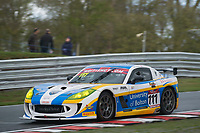 Century Motorsport #111 Ginetta G55 GT4 Anna Walewska/Mike Simpson GT4 Pro/AMduring British GT Championship as part of the BRDC British F3/GT Championship Meeting at Oulton Park, Little Budworth, Cheshire, United Kingdom. April 15 2017. World Copyright Peter Taylor/PSP.  Copy of publication required for printed pictures.  Every used picture is fee-liable. http://archive.petertaylor-photographic.co.uk