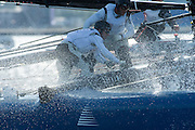 RealTeam, day two of the Cardiff Extreme Sailing Series Regatta. 23/8/2014