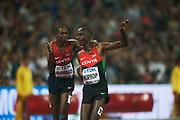 BEIJING 2015-08-30<br /> VM FRIIDROTT BEIJING NATIONAL STADIUM<br /> Asbel Kiprop vinner 1500 m