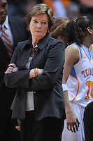 Dec 28, 2011; Knoxville, TN, USA; Tennessee Lady Volunteers head coach Pat Summitt during the first half of the game against the Old Dominion Lady Monarchs at Thompson Boling Arena. Mandatory Credit: Randy Sartin-US PRESSWIRE