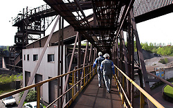 Blast furnace number 6 at the Arcelor steel plant in Seraing, near Liege was permanently closed in April 2005. The last remaining blast furnace at the plant was closed in 2009. The old style blast furnaces are being phased out and replaced with newer technology marking the end of an era in the steel industry. (Photo © Jock Fistick)