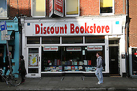 Discount bookstore on Baggot Street Dublin Ireland