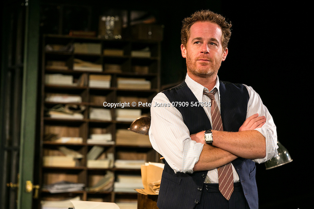 An Enemy of the People by Henrik Ibsen;<br /> Directed by Howard Davies;<br /> Adam James as Hovstad;<br /> Chichester Festival Theatre, Chichester, UK;<br /> 29 April 2016